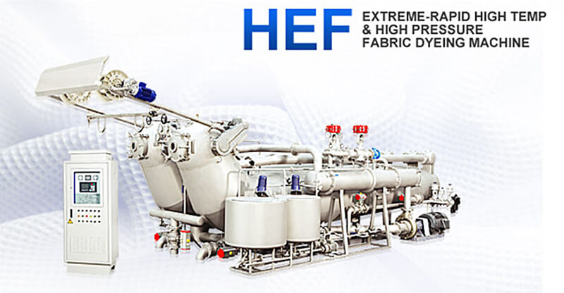 HEF-4-800 Extreme-Rapid High Temp & High Pressure Fabric Dyeing Machine.